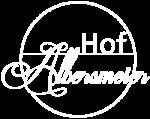 Logo Hof Albersmeier weiß